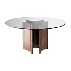 玻璃餐桌3D模型-0106Z22