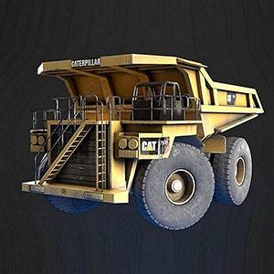 矿山车3D模型-070303G3