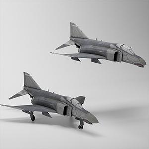F-4G野鼬鼠电子战飞机3D模型-1103F59