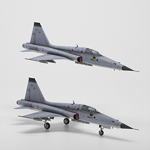 F-5A自由战士战斗机3D模型-1103F60