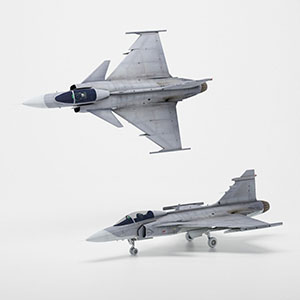 JAS-39战斗机3D模型-1103F62