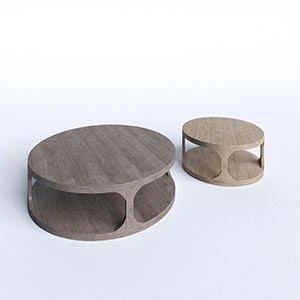 家具桌子茶几3D模型-0106Z25