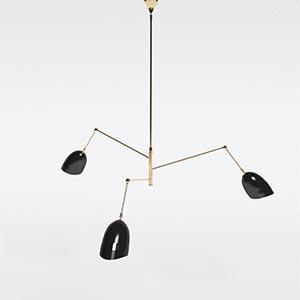 吊灯3D模型-0202D55