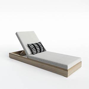 单人沙发3D模型-010201S31