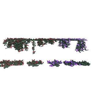 爬藤植物3D模型-1003T25