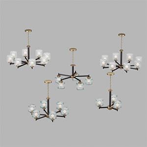 吊灯3D模型-0202D57