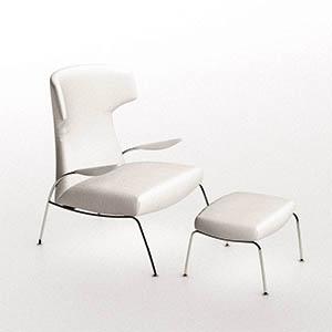 单人沙发3D模型-010201S33
