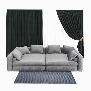 双人沙发3D模型-010202S32