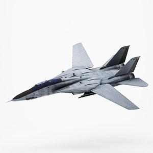 F-14A雄猫战斗机3D模型-1103F64