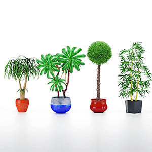 盆栽3D模型-1007P91