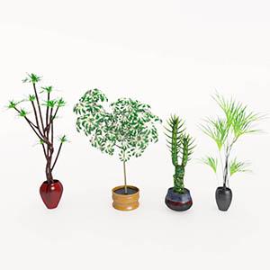 盆栽3D模型-1007P92