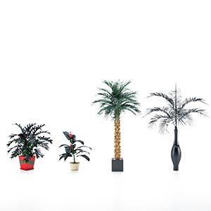 盆栽3D模型-1007P93
