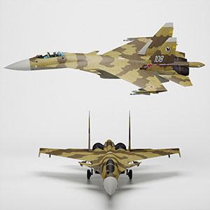 苏-37战斗机3D模型-1103F70
