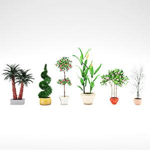 盆栽3D模型-1007P99