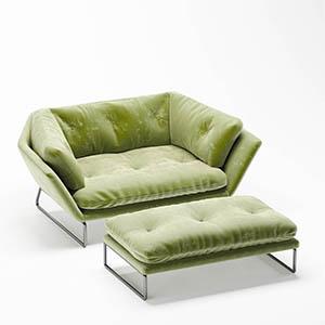 沙发3D模型-010201S34