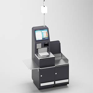 自助收银机3D模型-1305S31