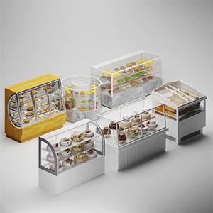蛋糕组合3D模型-0406S8