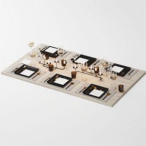 餐具组合3D模型-0410C20