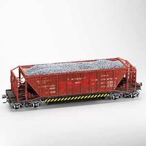 矿车3D模型-070205G1