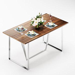 餐具组合3D模型-0410C21