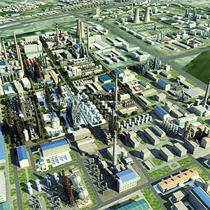 石油炼厂3D模型-0516X7