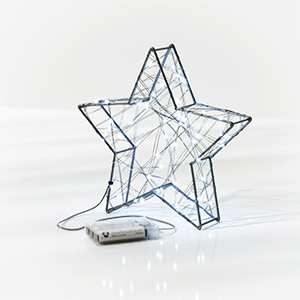星型落地灯3D模型-0203D12