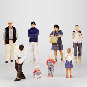多人群3D模型-0805R7