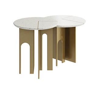 圆形桌子3D模型-0106Z27