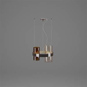 吊灯3D模型-0202D58
