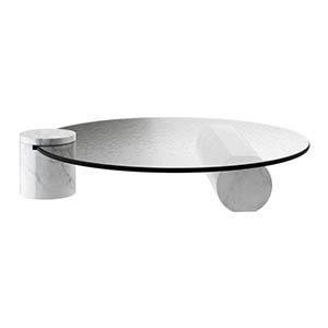 玻璃咖啡桌3D模型-0106Z29