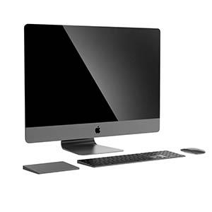 苹果电脑3D模型-1901D8