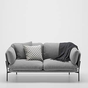 沙发3D模型-010202S34