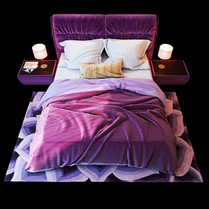 床3D模型-0101C55