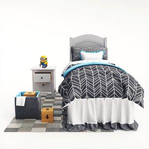 床3D模型-0101C57