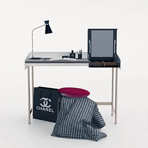 桌子3D模型-0106Z35