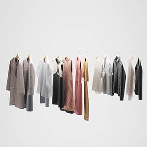 衣服3D模型-0309Y16
