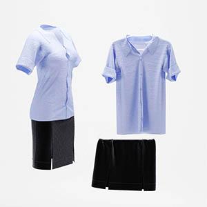 衣服3D模型-0309Y18