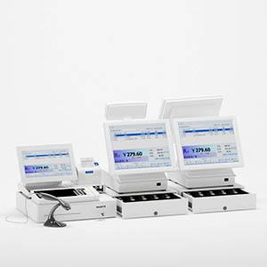 收银机3D模型-1305S32