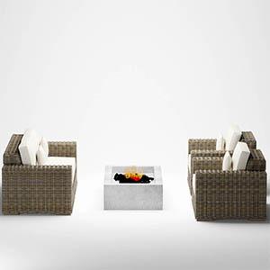户外沙发3D模型-010209S2