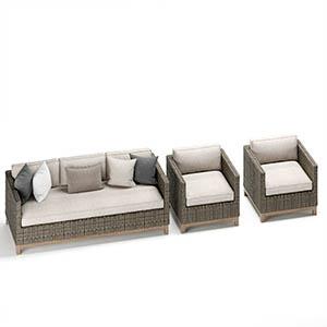 户外沙发3D模型-010209S3