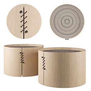咖啡桌3D模型-0106Z37